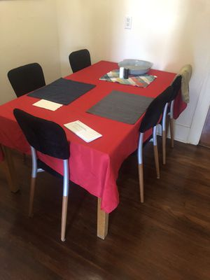dining table (strong wood & clean tiles) for Sale in Oakland, CA