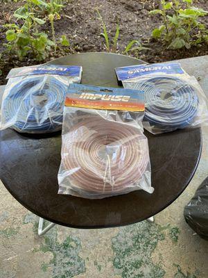 Car audio Speaker wire for Sale in Modesto, CA