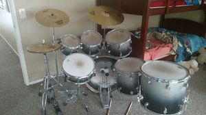 Drum Set and Cymbals for Sale in Corona, CA