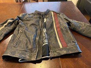 Triumph Raven 2 Motorcycle Jacket Size Large for Sale in Lynnwood, WA