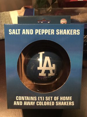 Los Angeles Dodgers Baseball Salt & Pepper Shakers, Set $15 for Sale in Pico Rivera, CA