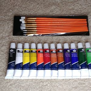 Acrylic Paint & Brushes for Sale in Kent, WA