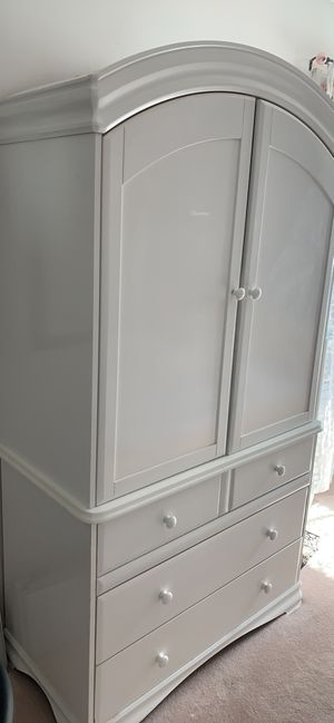 Clothing Armoire with 3 large drawers for Sale in Potomac Falls, VA