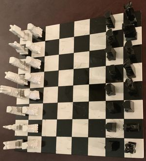 CHESS Set Marble LARGE Never used, boxed for Sale in Pembroke Pines, FL