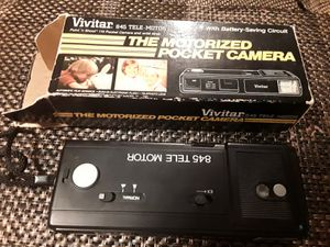 Vivitar Tele-Motor 845 Film Camera Photography Battery Powered w/Original Box for Sale in Pinellas Park, FL