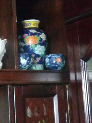 Made in Japan vase and two tea cups for Sale in Fort Worth, TX