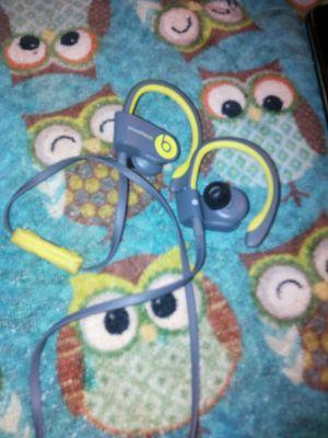 Beats by dre ear bud wireless Bluetooth headphones sound great for Sale in Glen Burnie, MD