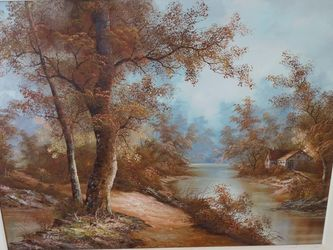 Antique Oil Painting for Sale in Fort Lauderdale,  FL