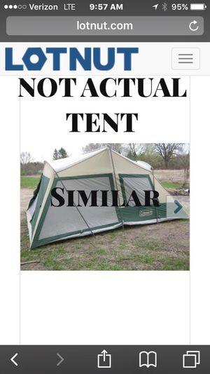 Coleman tent sleeps 8-10 for Sale in Mahwah, NJ