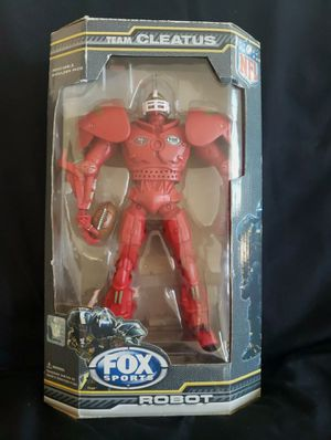 SF 49ers Team Cleatus Robot Fox Sports for Sale in Fremont, CA
