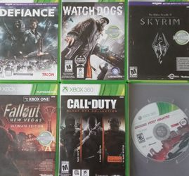 Xbox 360 Games for Sale in Luray,  VA