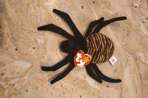 Spinner 1996 Beanie Baby Spider Black Orange Tiger Stripes for Sale in Herndon, VA
