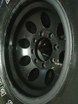 16x12w and 385x70xr16 tires for Sale in San Antonio,  TX