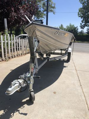 12ft Gregor aluminum boat for Sale in San Jose, CA