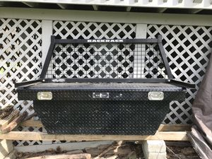 For sale ladders back rack and tool box in good shape for Sale in Norristown, PA