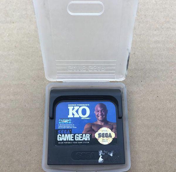 Sega Game Gear George Foreman's KO