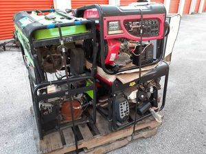 Pallet of 6 generators for repair for Sale in Fort Lauderdale, FL