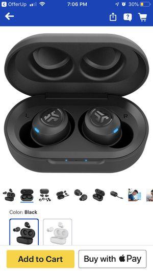 JLab Audio - JBuds Air True Wireless Earbud Headphones - Black for Sale in Durham, NC