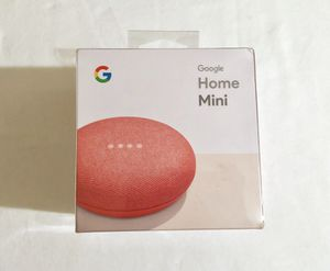 """Google Home Mini """"Coral"""" color - New Sealed! for Sale in Glendale, CA"""