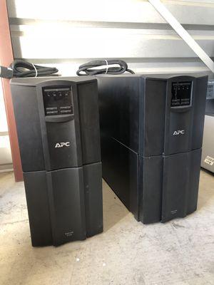 APC Smart UPS 2200 battery backup for Sale in Modesto, CA