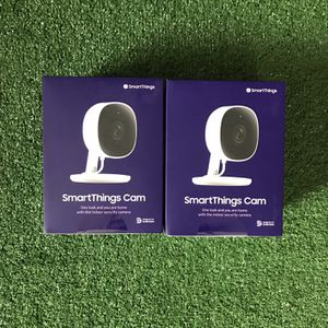 Lot Of 2 Monitoring Cam 24hr Samsung SmartThings Indoor Camera for Sale in Phoenix, AZ
