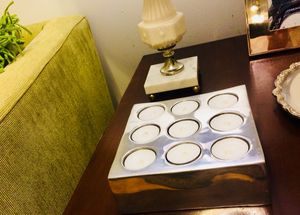 RESTORATION HARDWARE - tea light fixture for Sale in Chicago, IL