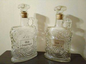 Set of Mid Century Old Forester Whiskey Decanter for Sale in Oklahoma City, OK