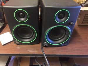 Mackie cr3 monitor speakers for Sale in Washington, DC