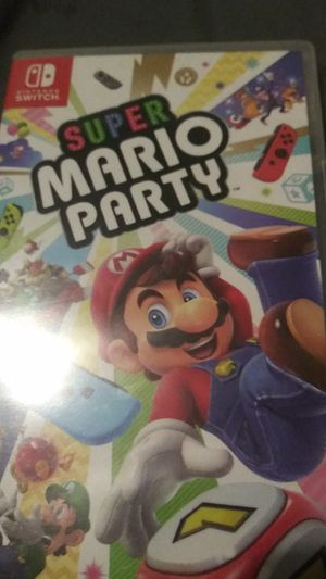 Super Mario Party for the switch for Sale in Fort Worth, TX