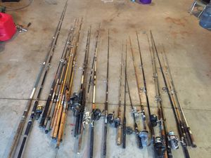 Fishing poles for Sale in Antioch, CA