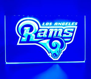 "🏈NEW 3D RAMS, CHARGERS (+OTHERS) 8x 12"" LED SIGN🏈MAN CAVE. BAR. NIGHT LIGHT🏈 for Sale in Ontario, CA"