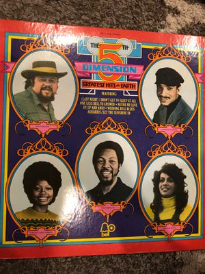 The fifth dimension greatest hits on earth vinyl for Sale in Villanova, PA