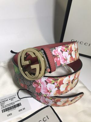 Gucci GG Pink 'Blooms' Belt **XMAS SALE!! for Sale in Queens, NY