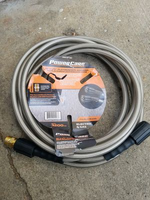 Powercare pressure washer hose 25 ft. 3200 psi for Sale in Hawthorne, CA