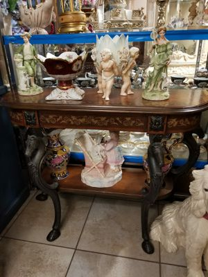 antique console table or enter table furniture for Sale in Tampa, FL