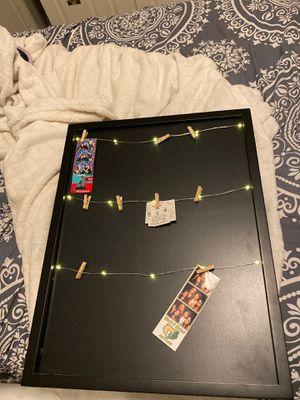 Clip photo holder (lights up) for Sale in Chandler, AZ