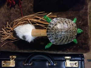Native American Turtle Rattle for Sale in Tacoma, WA