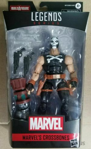 Marvel Legends Crossbones Collectible Action Figure Toy with Crimson Dynamo Build a Figure Piece for Sale in Chicago, IL