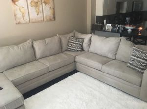 Sectional with Ottoman for Sale in Hartford, CT