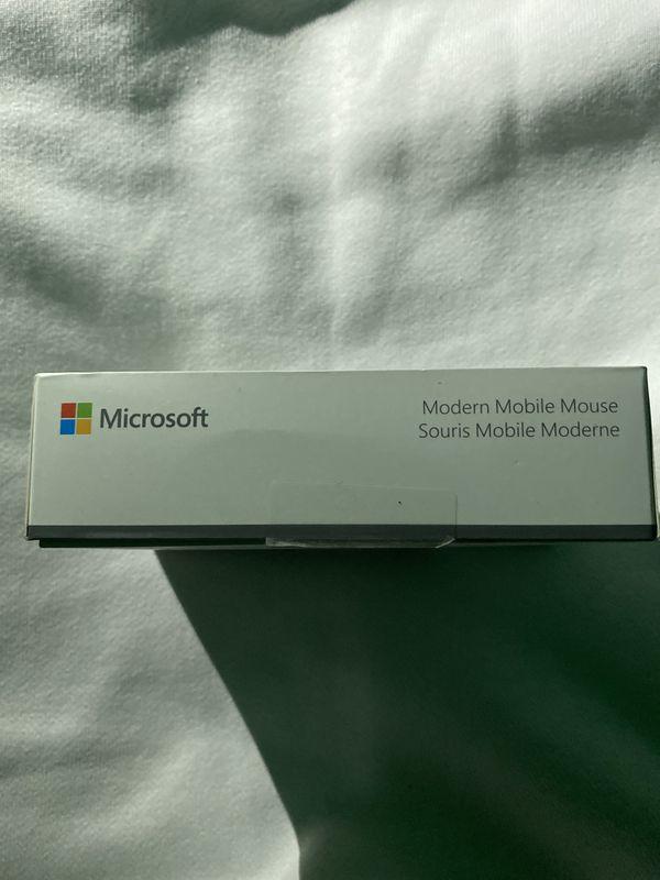 Microsoft Mouse Mobile Wireless Black