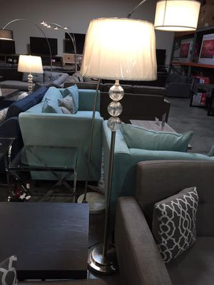60 inch H 3-Glass- Ball Stacked Table Lamp, 6188F for Sale in Downey, CA