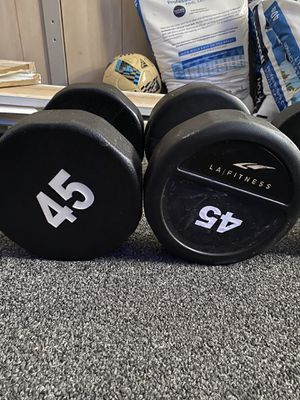 LA Fitness Commercial Grade dumbbells/weights for Sale in Tampa, FL