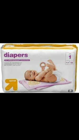 Up and up diapers size 1 for Sale in Lakeland, FL