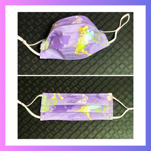 Tinkerbell on Purple Cloth Face Mask for Kids for Sale in Grand Prairie, TX