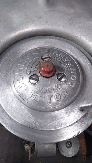 Vintage Johnson motor company outboard motor for Sale in Maple Shade Township, NJ