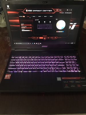 Msi gaming laptop i7-8750H/16GB/1060 6GB for Sale in La Puente, CA