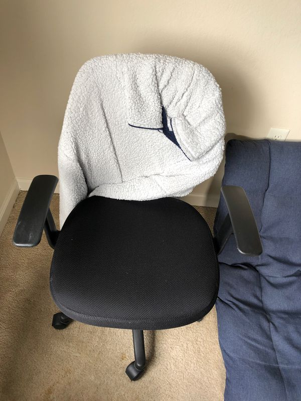 Office chair 60 $ , very comfy.