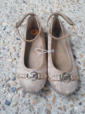 NEW Nueva Zapatos de Vestir Talla 3 Para Nina Grande Michael Kors Big Girls Dress Shoes Size 3 for Sale in Dallas, TX