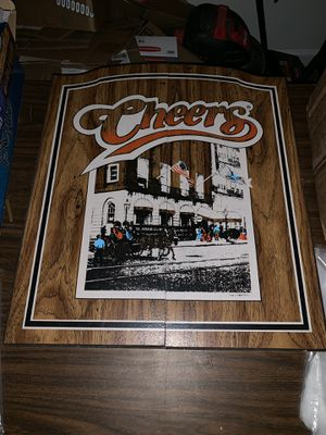 Cheers Dart Board Darts Man Cave Piece for Sale in Prattville, AL