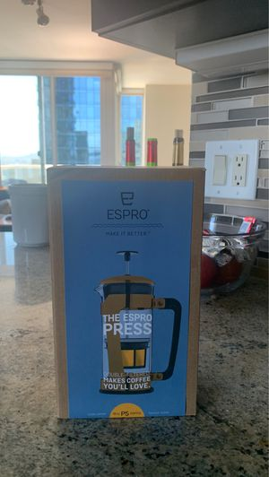 Double Filtered French Press for Sale in San Francisco, CA
